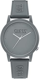 Guess Unisex Adult V1040 Watch Grey
