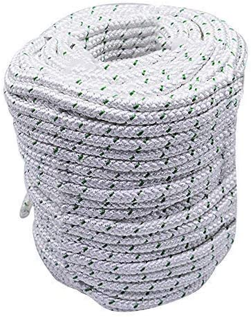 """wholesale findmall 3/8"""" x 200 feet Double Braid Polyester wholesale Rope 4800Lbs Breaking Strength Strong Pulling Rope for lowest Climbing Sailing Camping Swings sale"""