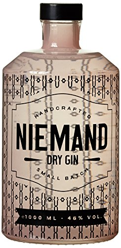 Niemand Dry Gin Handcrafted 46% vol (1 x 1 l)