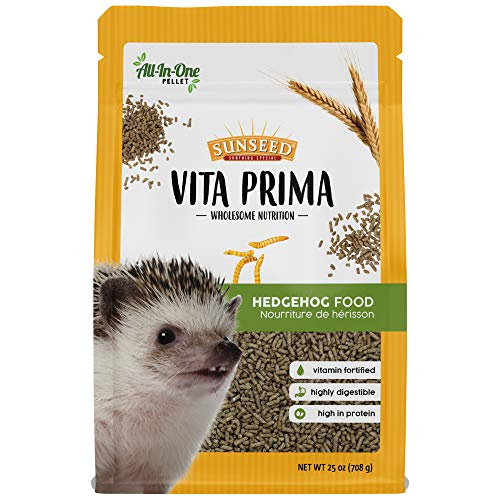 Sunseed Vita Prima Wholesome Nutrition Hedgehog Food All-In-One Pellet Diet, 25 oz