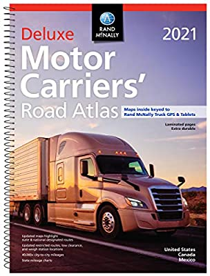 Rand McNally 2021 Deluxe Motor Carriers' Road Atlas by Rand McNally