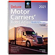 Rand McNally 2021 Deluxe Motor Carriers' Road Atlas