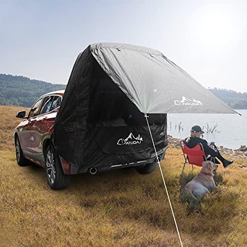 GJCrafts heckzelt Auto, mit Moskitonetz Winddicht, Sonnenschutz, wasserdicht Auto Camping Zelt/Angelzelt für Outdoor Camping, Angeln,SUVs/CUVs/Minivans