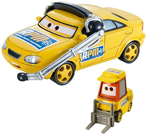 Voitures Cars : Coffret 2 véhicules : Chief RPM & Petrol Pulaski