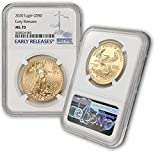 Stock Photo; image is indicative of quality. You will receive one coin per purchase. Coin id graded MS70 by NGC with Early Releases designation Metal Content: 1 Troy Ounce Purity: .9167 Fine Gold