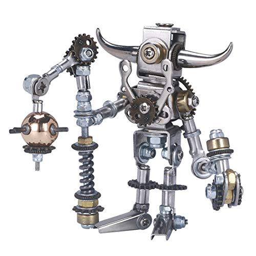 Teakpeak Metallbausatz 3D, 7er Mechanische Puzzle Metal Model Kit 3D Bausatz Metall 3D Puzzle Metall -Zufällige Lieferung