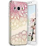 Robinsoni Cover per Samsung Galaxy J5 2016 Cover Silicone Galaxy J5 2016 Case Trasparente ...