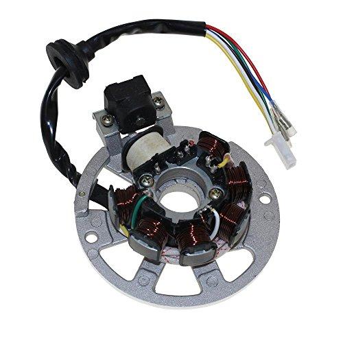 Lichtmaschine Stator Version 3 3Pins und 3Kabel für Roller Baotian, Keeway, CPI
