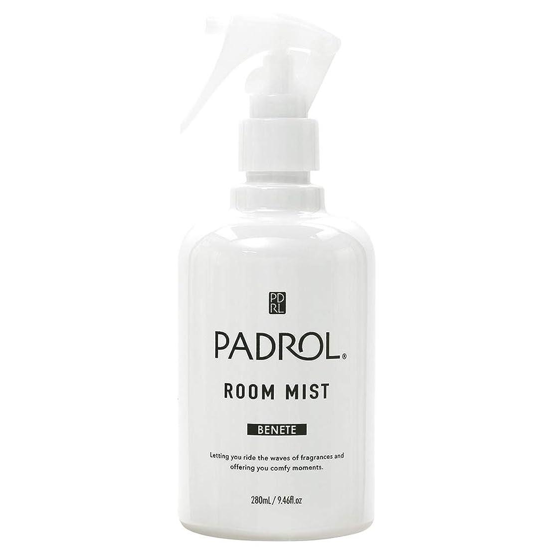 いらいらさせるマサッチョ喉頭ノルコーポレーション ルーム&ファブリックミスト PADROL ホワイトムスクの香り 280ml PAB-2-01