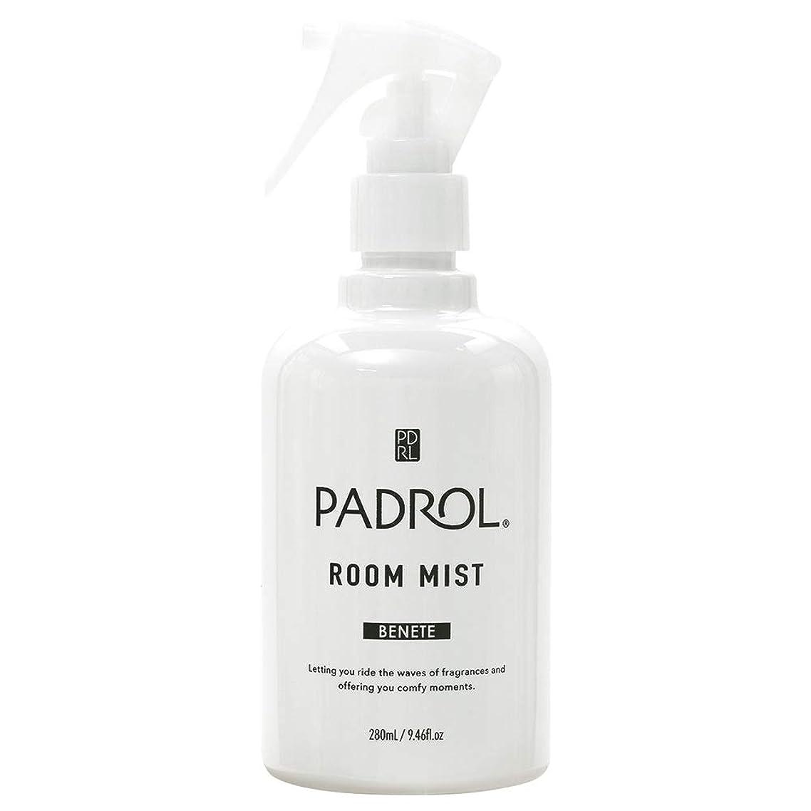 期間サイクルストライクノルコーポレーション ルーム&ファブリックミスト PADROL ホワイトムスクの香り 280ml PAB-2-01