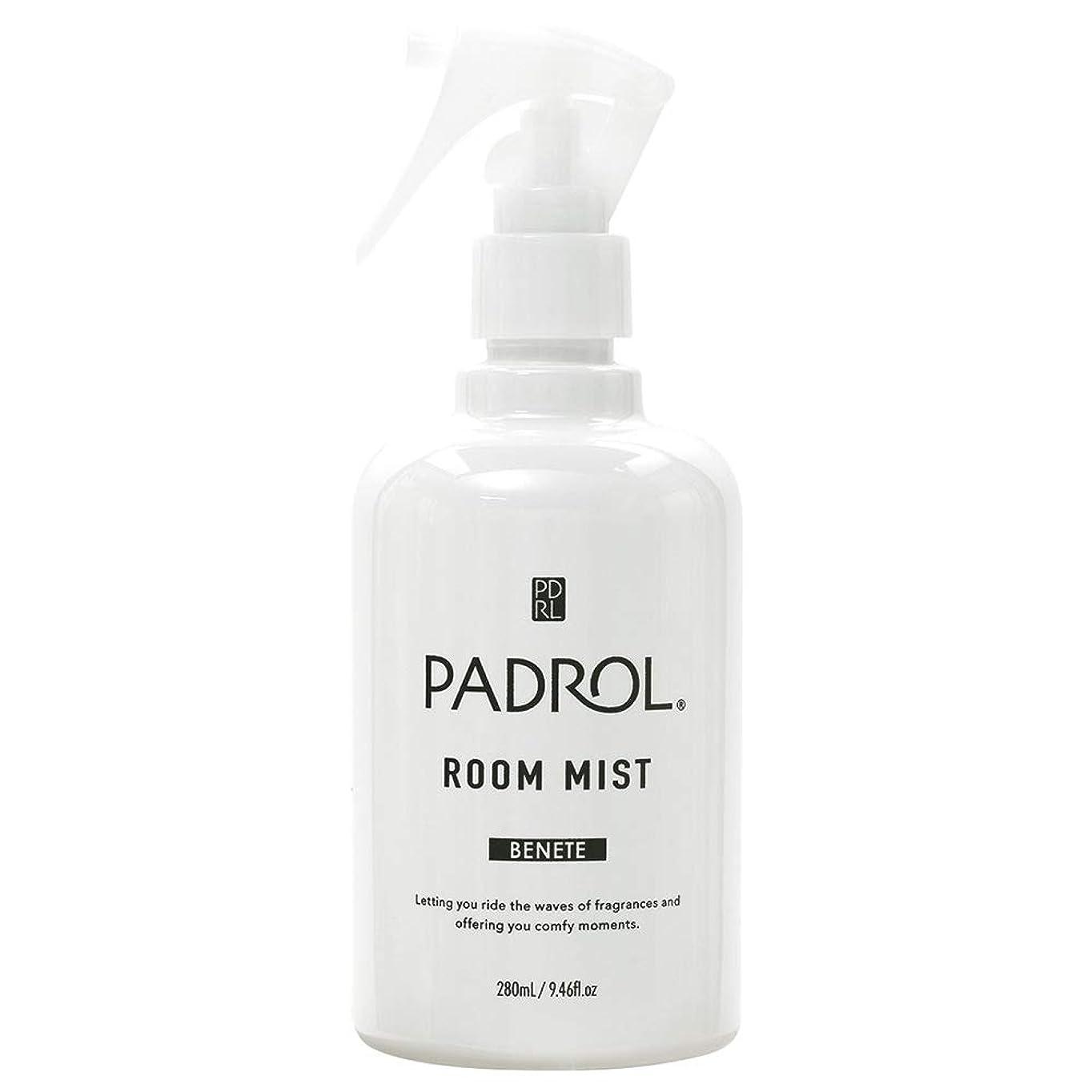 水分思われるバーチャルノルコーポレーション ルーム&ファブリックミスト パドロール PAB-2-01 ホワイトムスクの香り 280ml