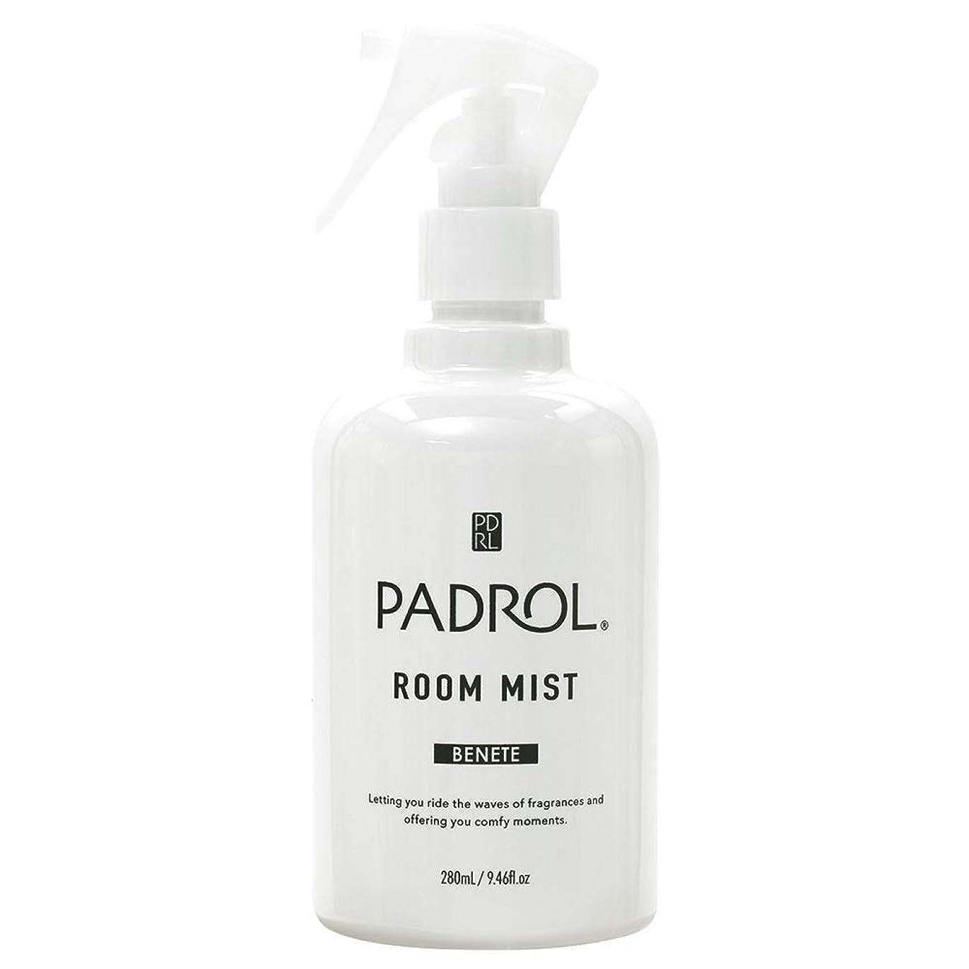 混乱させる方法論フラップノルコーポレーション ルーム&ファブリックミスト PADROL ホワイトムスクの香り 280ml PAB-2-01