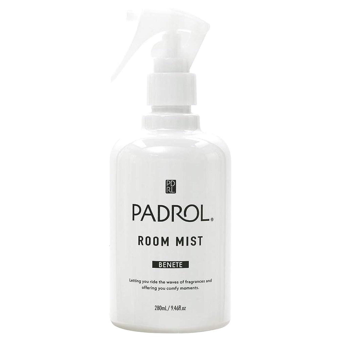 女王異議さまようノルコーポレーション ルーム&ファブリックミスト PADROL ホワイトムスクの香り 280ml PAB-2-01