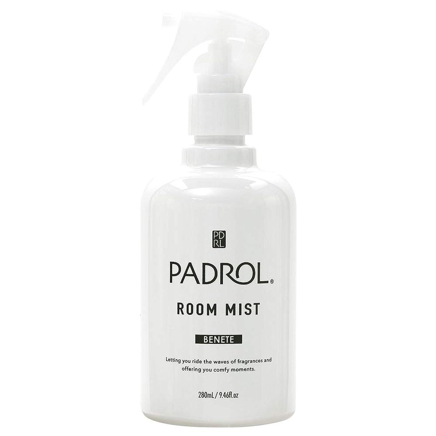 行為メロドラマ差し控えるノルコーポレーション ルーム&ファブリックミスト PADROL ホワイトムスクの香り 280ml PAB-2-01