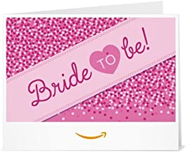 Amazon Gift Card - Print - Bride to Be