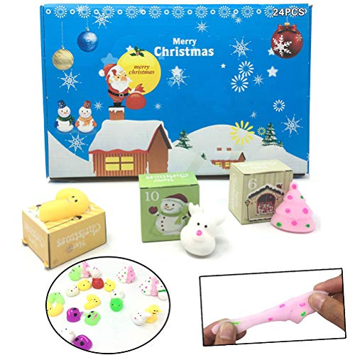 CaCaCook - Spielzeug-Adventskalender in Colorful, Größe Medium
