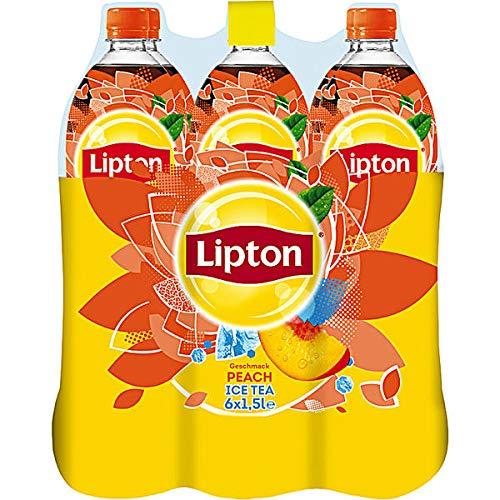 Lipton Ice Tea Peach, 6er Pack, 6 x 1,5 l EINWEG
