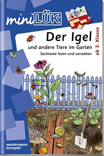 miniLÜK-Übungshefte: miniLÜK: 3./4. Klasse - Sachunterricht: Der Igel und andere Tiere im Garten: Sachunterricht / 3./4. Klasse - Sachunterricht: Der ... Garten (miniLÜK-Übungshefte: Sachunterricht)