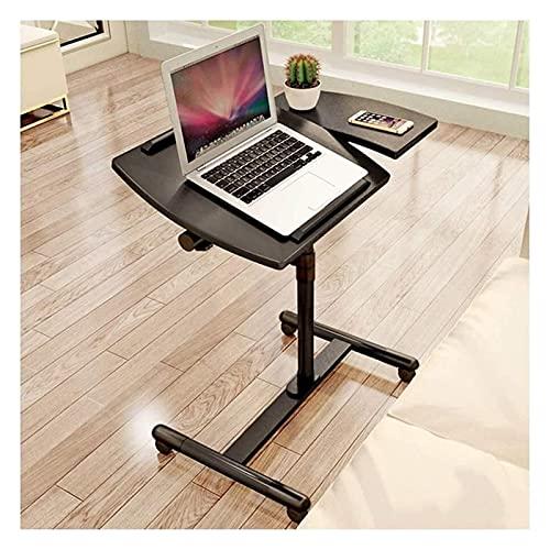 Mesa auxiliar Mesa con bandeja para cama o silla, sofá Mesas laterales con soporte plegable Mesa móvil Mesa para portátil Mesa auxiliar portátil Ideal para portátiles o tabletas de tamaño pequeño (Col