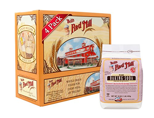 Bob's Red Mill Baking Soda, 16 Oz (4 Pack)