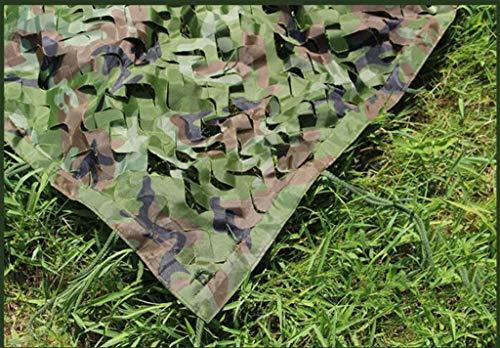 Red de sombreado Multifunción Red de camuflaje, Ejército bosque de caza Camo neta for acampar al aire libre del partido decoración del coche -Recubrimientos Sombrilla Carpa Tela oculta de la selva