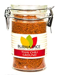 Our Thai chili peppers come straight from the best farmers in Thailand. We grind small batches right before mailing so your Thai recipes taste as fresh and authentic as youâ€ve come to expect from your favorite restaurant. is an essential ingredient ...