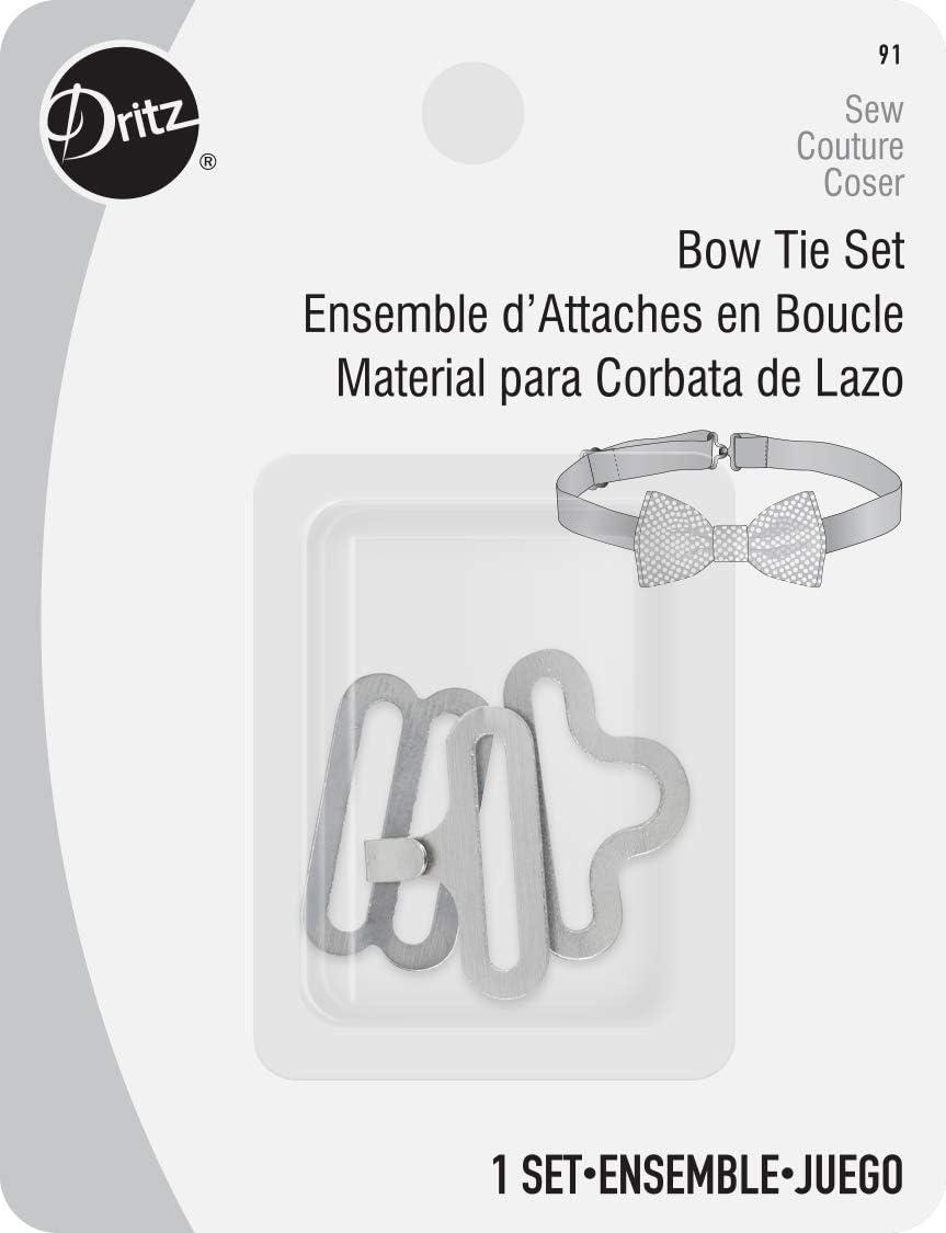 Dritz 91 Bow Tie Set, Nickel