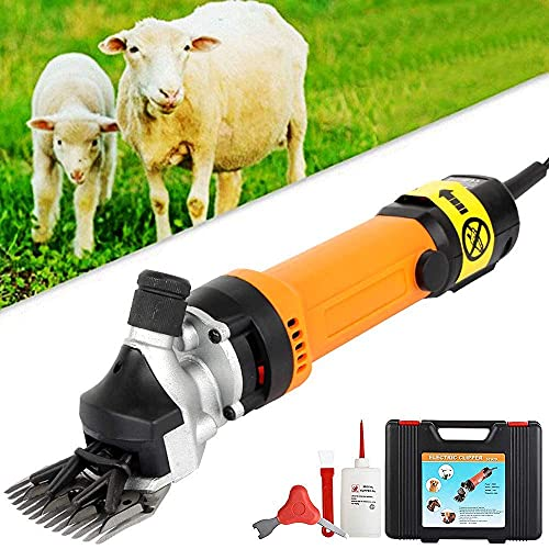 350W Sheep Shearer Shears Clipper, Electric Sheep Shears, Pet Grooming...