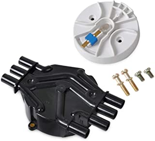 SIZOO - Ignition Coil - beler Set New OEM 10452458 10452457 Ignition Distributor CAP Rotor for for Cadillac for Chevrolet ...