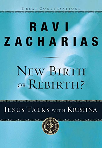 Image of New Birth or Rebirth?: Jesus Talks with Krishna (Great Conversations)