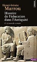 Histoire De l'Education Dans l'Antiquite