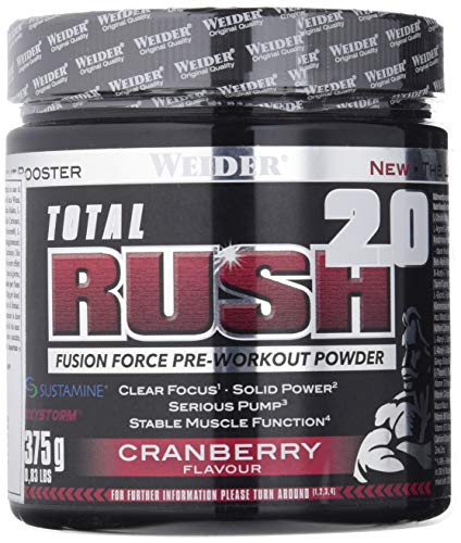 Weider Total Rush 2.0, Cranberry, 375 g
