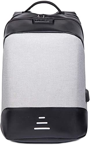 Sac à Dos Multi-Fonctions pour Homme chargeant Un Sac d'ordinateur pour Les Jeunes, 49 × 35 × 16cm, Noir