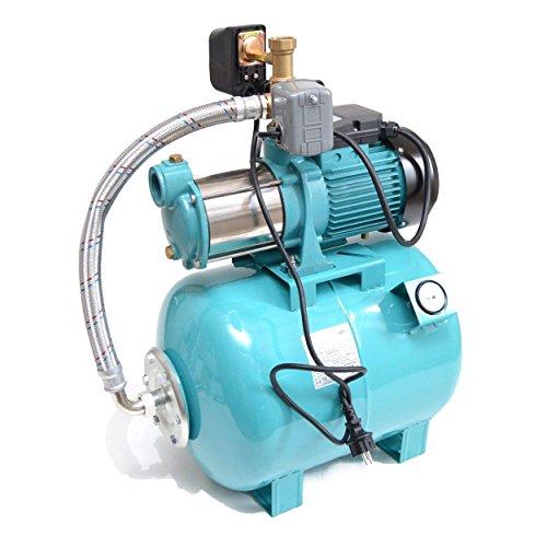 Hauswasserwerk 50 Liter 5-stufige Pumpe MHi1800 INOX 9000l/h Trockenlaufschutz SK-13