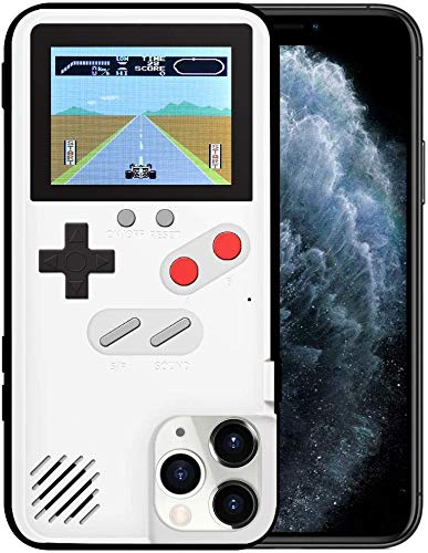 Homi2019 Game Hülle für Samsung Galaxy S10+ (Plus), Retro 3D Schutzhülle mit 36 kleinen Spielen, Full Color Display, Cooler Telefonkasten des kreativen Entwurfs