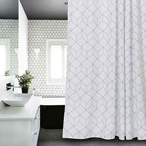 cortinas baño de tela