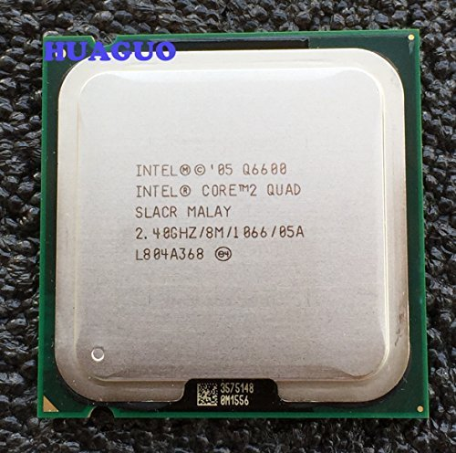 Intel Core 2 Quad Q6600 2,4 GHz Quad-Core CPU Procesador SLACR LGA 775 8M caché