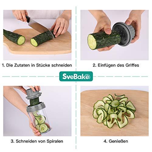 SveBake Cortadores para patatas y vegetales
