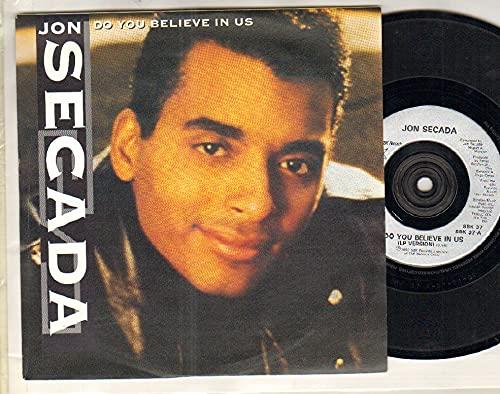 JON SECADA - DO YOU BELIEVE IN US - 7 inch - 7 inch vinyl / 45