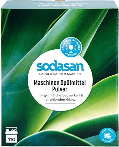 Sodasan Bio Maschinen Spülmittel Pulver (2 x 1650 gr)