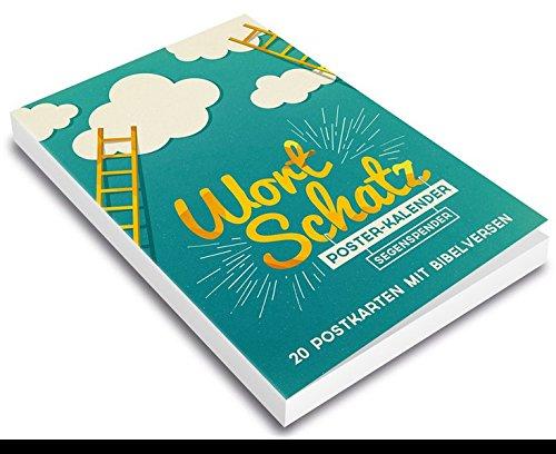 WortSchatz: Segensspender - Postkartenbuch: 20 Postkarten mit Bibelversen