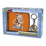 ABYstyle - DRAGON BALL - Caja de regalo - Monedero + Llavero Goku