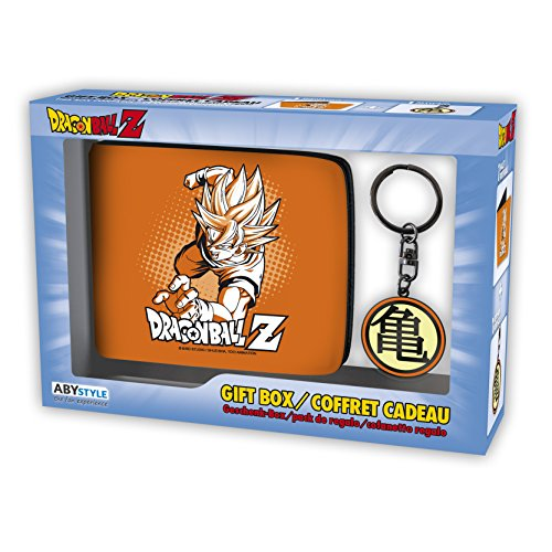 ABYstyle - DRAGON BALL - Caja de regalo - Monedero + Llavero Goku