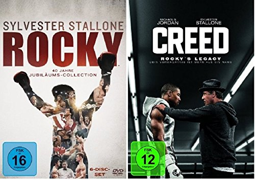 Rocky - The Complete Saga + Creed - Rocky's Legacy * DVD Set