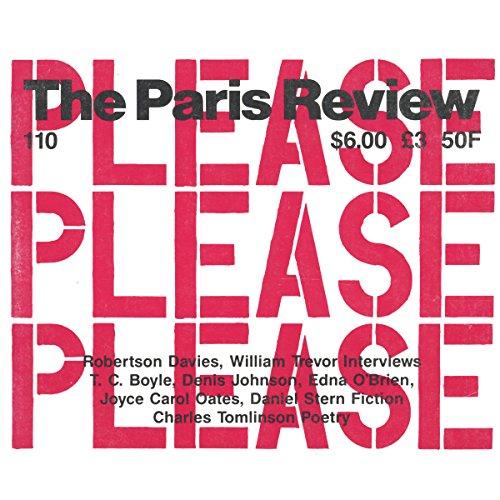 The Paris Review No.110, Spring 1989 audiobook cover art