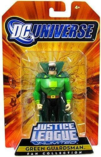 DC Universe Justice League Unlimited Exclusive Justice Guild Action Figure Grün Guardsman