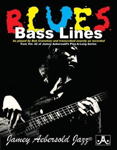 Bob Cranshaw Bass Lines: Transcribed from Volume 42 (Jamey Aebersold Play-A-Long Series)