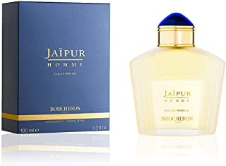 Boucheron Jaipur Homme Eau de Parfum, Spicy Oriental, 3.3 Fl Oz