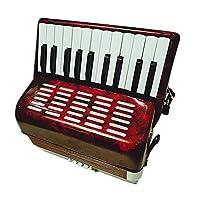 22-キー8 - ベースアコーディオン、初心者のための大人、自己教え、プロフェッショナルな高度な楽器
