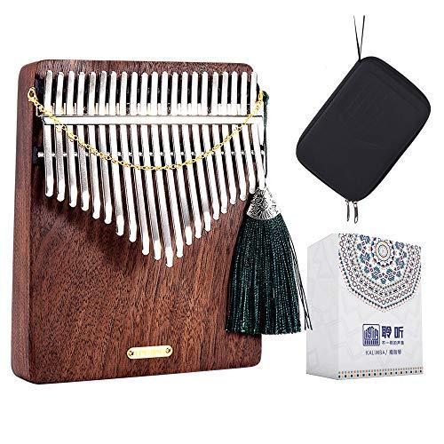 LingTing LT-K21W 21鍵カリンバムビラ親指ピアノ(雨のささやき)